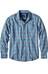 Prana Alabaster overhemd en blouse lange mouwen Heren blauw